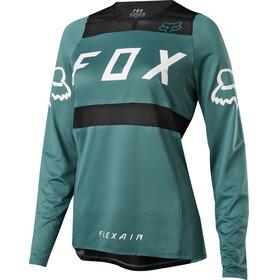 Fox Flexair - Maillot manches longues Femme - vert/Bleu pétrole